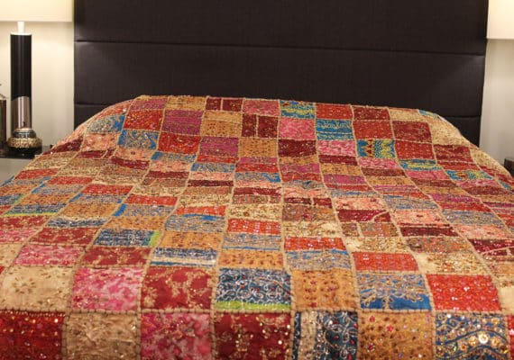 bedspread front view